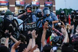 Use of Force Criticized in Protests About Police Brutality   Voice ...